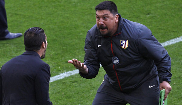 German Burgos ist der Co-Trainer von Diego Simeone bei Atletico Madrid