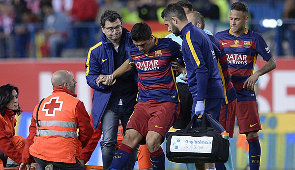 Luis Suarez Verletzung