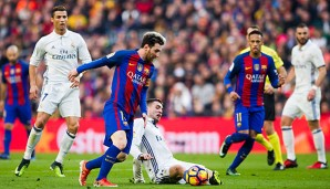 Real Madrid empfängt den FC Barcelona im April