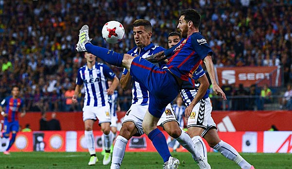 Barcelona Gegen Alaves