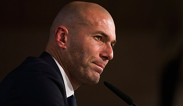 Real Madrid-Trainer: Zinedine Zidane