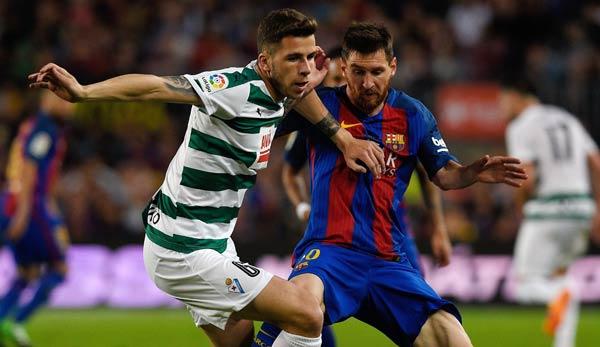 Vier Messi-Tore bei 6:1-Heimsieg des FC Barcelona über Eibar