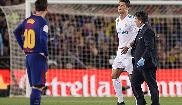 Ronaldo ist nur leicht verletzt