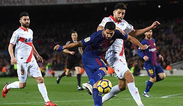 Primera Division Fc Barcelona Deportivo Alaves Heute Live Im
