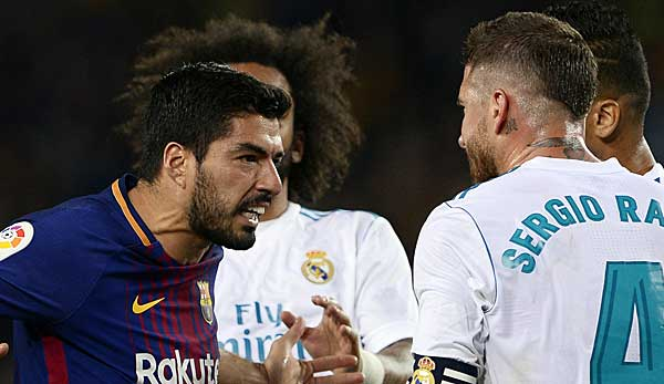 Primera Division Fc Barcelona Real Madrid Clasico Heute Live Im