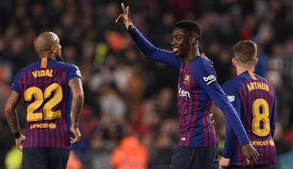 Copa del Rey: Ousmane Dembele schießt den FC Barcelona ins Viertelfinale