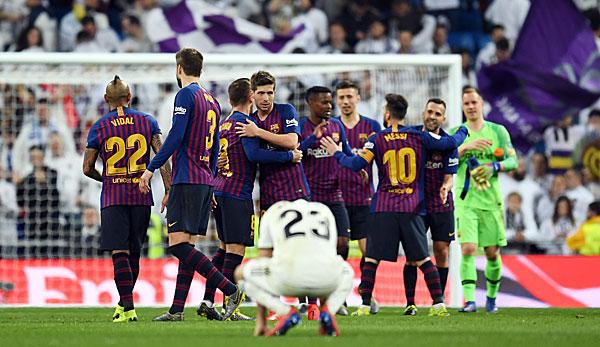 El Clasico Real Madrid Gegen Fc Barcelona Heute Live Im Tv