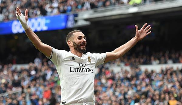 Real Madrid dank Dreierpack von Benzema mit viertem Heimsieg in Folge