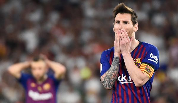 Copa del Rey: FC Barcelona verliert Pokalfinale gegen FC Valencia