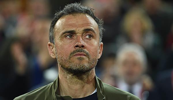 Spanischer Verband will an Luis Enrique als Nationaltrainer festhalten: Niemals einen Wechsel erwogen