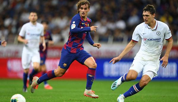 LaLiga-Präsident: Atletico Madrid will Spielerlaubnis von Antoine Griezmann beim FC Barcelona verhindern