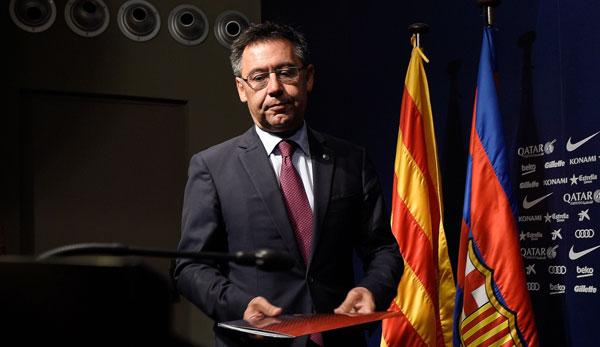Le président Josep Bartomeu est controversé au FC Barcelone.