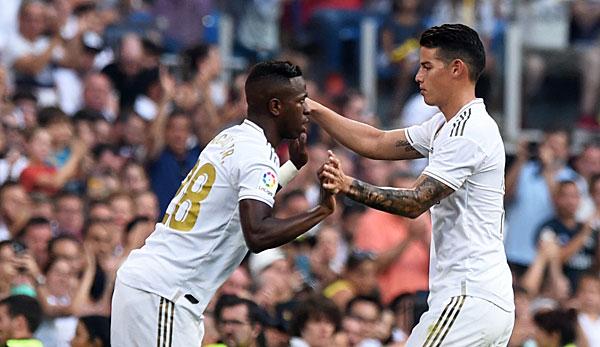 Real Madrid bestätigt Verletzung von James Rodriguez