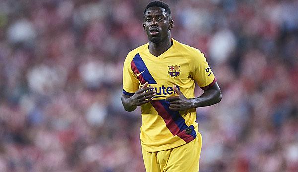 FC Barcelona: Ousmane Dembele fällt rund fünf Wochen aus