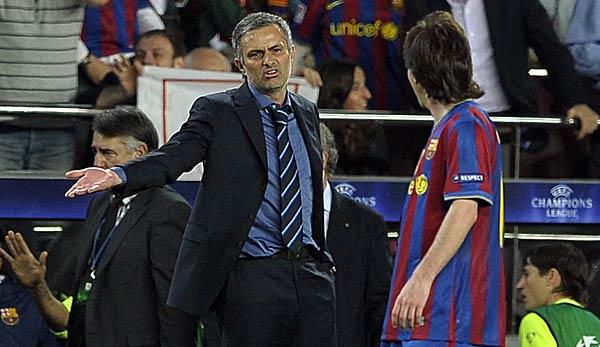 Jose Mourinho: Messi machte mich zu einem besseren Trainer