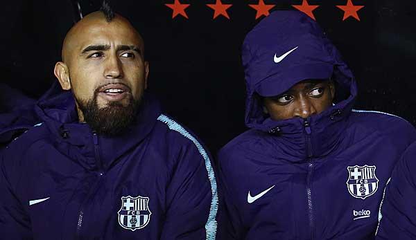 Arturo Vidal vom FC Barcelona über Ousmane Dembele: Er weiß, dass er kleine Fehler gemacht hat