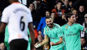 90 + 5! Real Madrid draw against Valencia before Claisco thanks to Benzema   - Transgaming 1