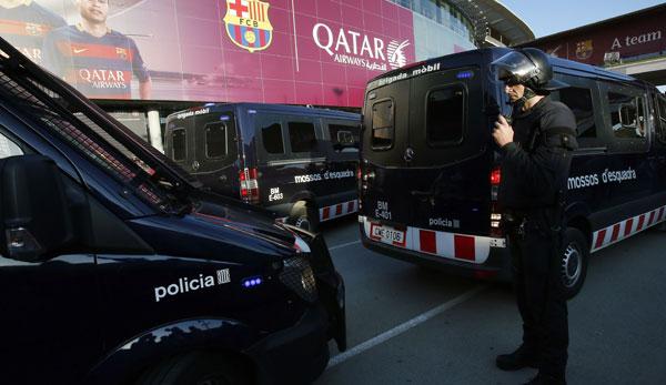 Barca vs. Real: 3000 zusätzliche Sicherheitskräfte für Clasico