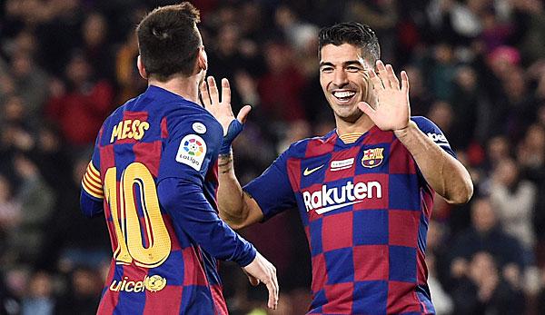 Messi mit Dreierpack! FC Barcelona setzt sich gegen RCD Mallorca durch