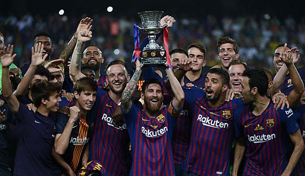Supercup Spanien übertragung