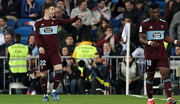 Primera Division: Real Madrid verspielt Sieg gegen Celta Vigo