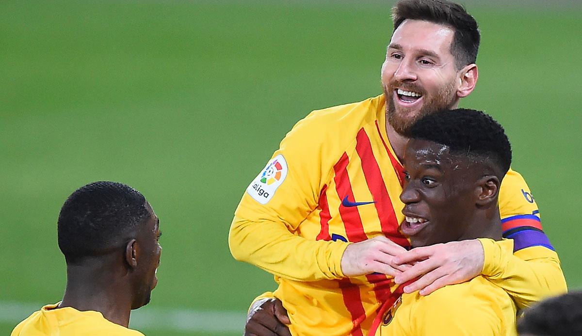 FC Barcelona: Lionel Messi leitet Sieg mit Traumpass ein