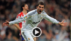 Real Madrid, Sporting Gijon, Video