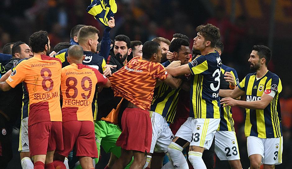 Galatasaray Gegen Fenerbahce