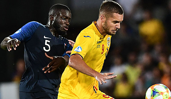 Fussball Frankreich Gegen Rumänien