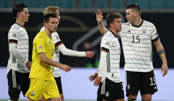 Deutschland Ukraine Fussball 2021