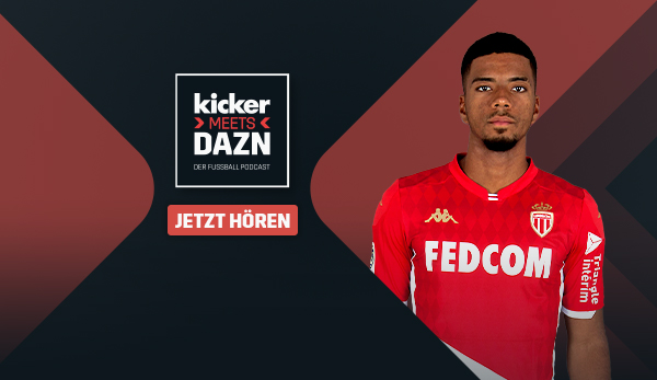 "Monaco Benjamin Henrichs in the ""kicker meets DAZN   - Transgaming 1"