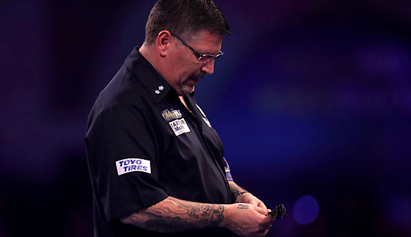 Gary Anderson hat die Premier League of Darts abgesagt.