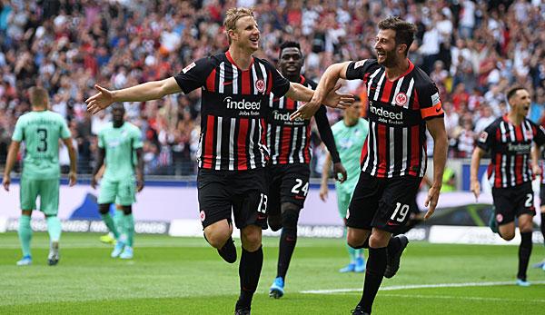 Eintracht Frankfurt - TSG 1899 Hoffenheim 1:0: Blitztor bringt Punkte - SGE-Schnellstarter besiegen Hoffenheim