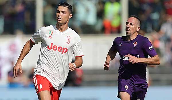 AC Florenz stoppt Juventus Turin: Ribery besser als Ronaldo