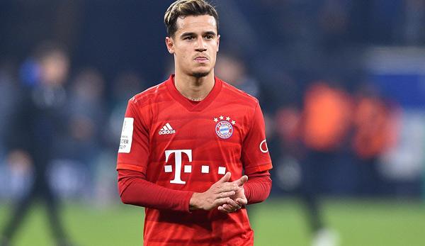 FC Bayern: Philippe Coutinho wohl vor Rückkehr nach England