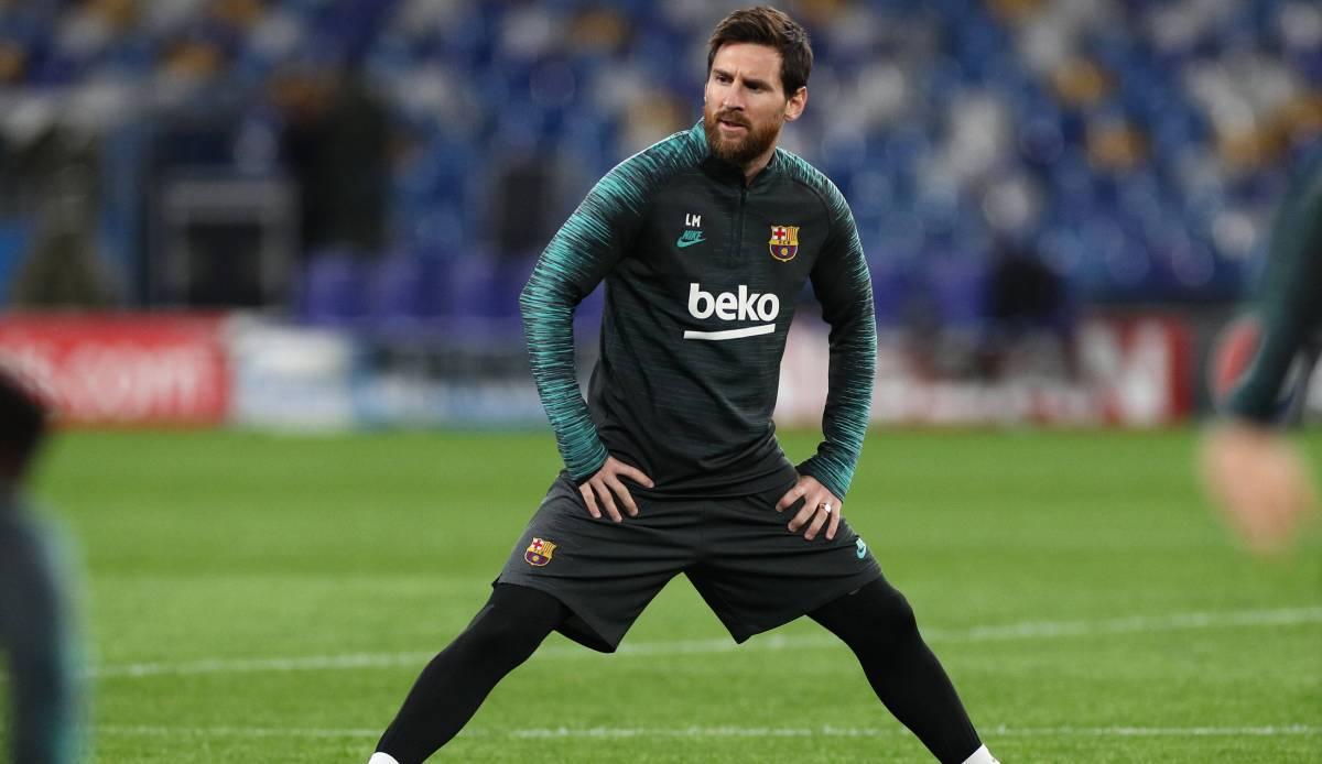 FC Barcelona: Lionel Messi könnte den Restart offenbar verletzungsbedingt verpassen