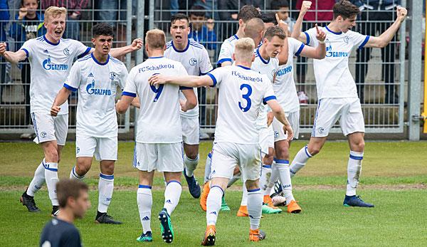 U19 Bundesliga: Schalke schlägt Hoffenheim und zieht ins Finale ein