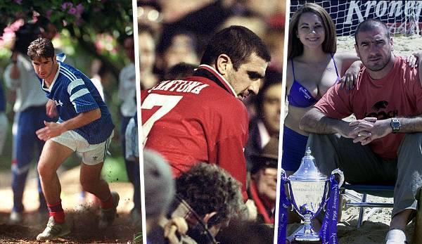 Diashow: 25 Jahre Kung-Fu-Tritt: Die spektakuläre Karriere von Eric Cantona