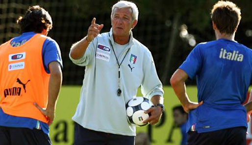 Marcello Lippi, Italien, WM 2010, Qualifiaktion
