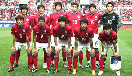 SГјdkoreanische Nationalmannschaft