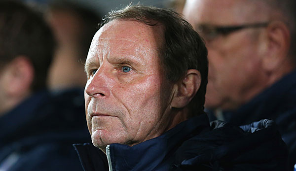 Berti Vogts ist seit 2008 Nationaltrainer in Aserbaidschan