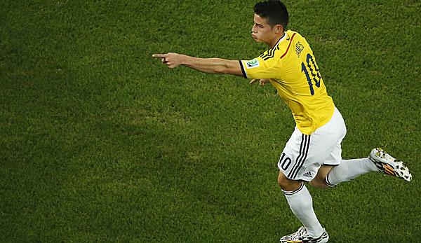 James Rodriguez Scheiterte Mit Kolumbien Im Viertelfinale Gegen Brasilien