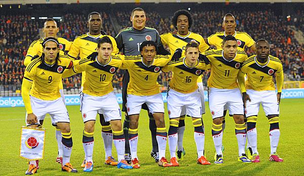 fußball kolumbien