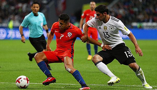 Deutschland Chile Fußball
