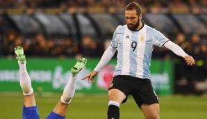 WM 2018: Argentinien verzichte erneut auf Gonzalo Higuain