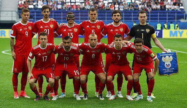 Russland Mannschaft