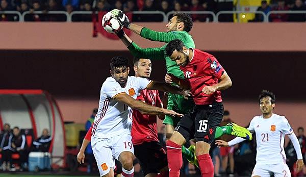 spanien gegen albanien