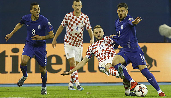 Kroatien Gegen Griechenland