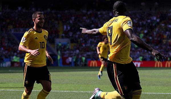 5:2 - Belgien glänzt bei Torfestival gegen Tunesien