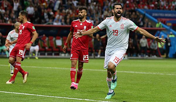 Der Favorit strauchelt beinahe - Spanien zittert sich zum Sieg gegen Iran